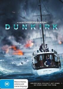 Dunkirk (DVD, 2017, 2-Disc Set) Free Post