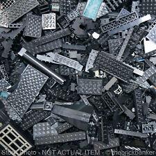LEGO 8lb BLACK~3200 Pieces-SANITIZED-Bulk Pound Lot Brick Part Random Assorted H