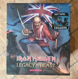 IRON MAIDEN LEGACY OF THE BEAST TROOPER EDDIE STATUE HOT TOPIC EXCLUSIVE