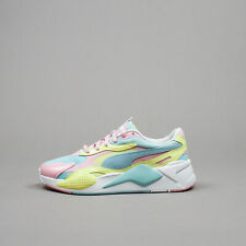 Puma Men RS-X³ Plastic Gulf Stream Sunny Lime Lifestyle Running Shoes 371569-05