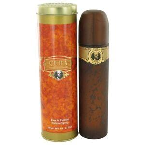 CUBA GOLD BY FRAGLUXE 3.3 / 3.4 O.Z EDT SPRAY *MEN'S PERFUME* NEW IN BOX
