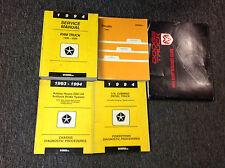 1994 Dodge Ram Truck DIESEL 1500 2500 3500 Service Shop Repair Manual Set x Body