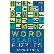 NEW - Brain Aerobics Word Search Puzzles by Danna, Mark