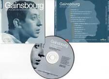 """SERGE GAINSBOURG """"Le Poinçonneur Des Lilas"""" (CD) 1999"""
