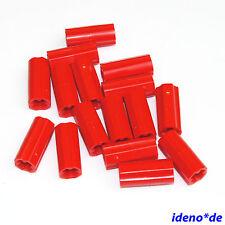 Lego Technik Technic 15 Stk. Kreuz Achs Verbinder 6538c 8043 9395 rot NEU