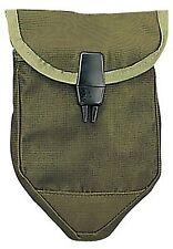 Rothco Nylon Olive Drab Tri-Fold Shovel Cover w/ Plastic Locking Clip