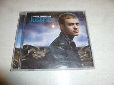 JUSTIN TIMBERLAKE - Justified - 2002 UK 13-track CD album