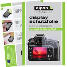 6x dipos Nikon D800 Film de protection d'écran protecteur antireflet