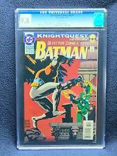 Detective Comics #674 Vol 1 Comic Book - CGC 9.8 - Knightquest