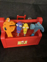 Handy Manny Talking Singing Toolbox with Tools Toy Disney Mattel 2007
