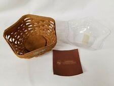 2009 Longaberger Warm Brown Hostess Appreciation Star Basket with Protector