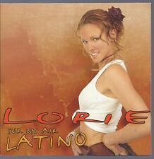 LORIE  CD PROMO 1 titre sur un air latino pochette cartonné