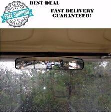 16.5 Golf Cart Accessories Extra Wide Panoramic View Mirror EzGo Club Car Yamaha