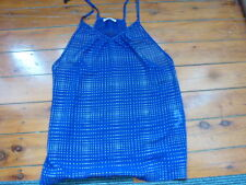 Ladies T Back V Singlet Tunic Top size XXS Light See Through Material.