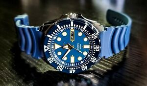 New SEIKO Diver Automatic Blue Dial Mens Watch Model SRP605K2