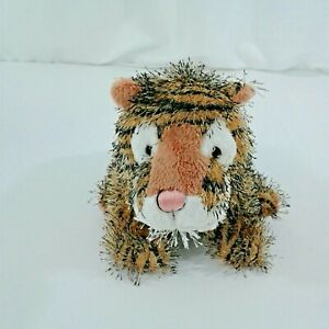 "Ganz Webkinz Tiger HM032 stuffed/plush animal ""W"" on Paw"