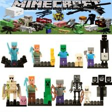 MINECRAFT Minifigure Alex Steve Wither Ocelot Zombie