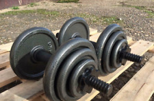 2 x 8.5kg Adjustable Cast Iron Dumbbell Weight Sets