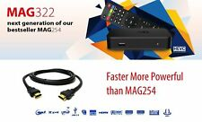 MAG322 IPTV Box With 12 Month Gift Warranty Premium Quality Fast Postage