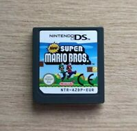 New Super Mario Bros Nintendo Cartridge DS DSI DSL NDS 3DS Game FREE P&P
