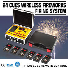 500M Remote wireless control 24 Cues Cold fireworks firing system Wedding switch