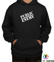 Public Enemy Hoodie Men Unisex Pullover Top S-XXL Gift - Can be Personlised