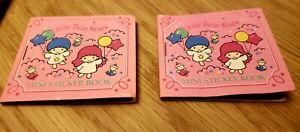 Sanrio Little Twin Stars vintage mini sticker sets 1995