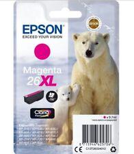 Genuine Unused Original Epson 26XL Magenta High Capacity Ink Cartridge