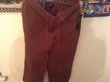 brown 100% cotton pants jones of new york