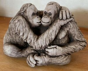 Latex Mould for making this lovely Orangutan statue