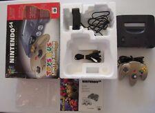 Nintendo 64 N64 Toys R Us Limited Edition Console Set Gold Controller Box CIB #5