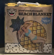 Giant 5 Ft Pineapple - Beach Pool Shower Towel Blanket - BigMouth Inc.