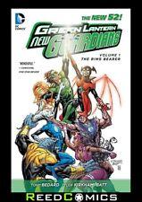 GREEN LANTERN NEW GUARDIANS VOLUME 1 THE RING BEARER HARDCOVER (2011) #1-7