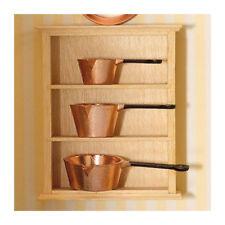 Dolls House 2316 Kitchen Shelves Pine 1:12 for Dollhouse NEW! #