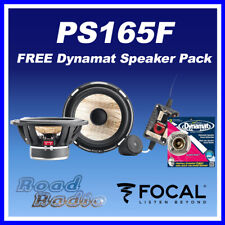 Focal PS165F + Dynamat Xtreme Speaker Pack