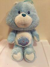 "Vintage 1983 Grumpy Bear Care Bear Kenner Plush Doll 13"" FREE SHIPPING"