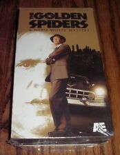 Neo Noir Vhs The Golden Spiders A Nero Wolfe Mystery A&E Home Video Sealed New