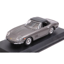 FERRARI 275 GTB/4 NART SPYDER CLOSED SILVERGUN 1:43 Best Model Auto Stradali