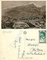 Cartolina di Merano, ippodromo - Bolzano, 1952