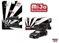 TSN Model MINI GT 1/64 LB Works Nissan Skyline GT-R R35 Black MGT00031