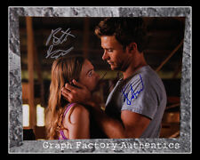 The Longest Ride * BRITT ROBERTSON & SCOTT EASTWOOD * Signed 11x14 Photo L3 COA