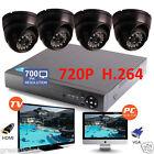 8CH HDMI DVR Video 700TVL CCTV CMOS IR Home Surveillance Security Camera System
