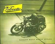 LE Velocette Motorcycle Repair Manuals & Literature for sale ... on