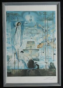 "Salvador Dali ""Discovery of America by Columbus"" Hand Signed Ltd Ed Lithograph"