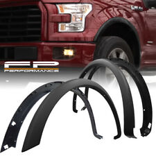 For 15 -17 Ford F150 Factory OE Style Styleside Black Replacement Fender Flares
