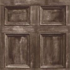 Fine Decor Distinctive Wood Door DESIGNER Rustic Feature Brown Wallpaper FD31055