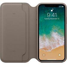 Genuine Leather Folio Flip Wallet Case Cover For Apple iPhone 10 X 8 7 6 Plus 6s