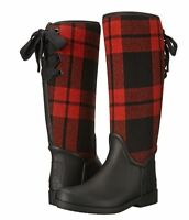 Coach Womens Tristee Pull On Lace Casual Knee High Cold Weather Tall Rain Boots