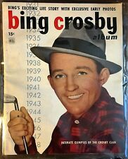 1949 BING CROSBY  Special Magazine 50 pg of LIFE STORY and early family PHOTOS
