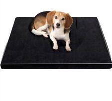 Memory Foam Dog Beds Waterproof Oxford Bottom Orthopedic Mattress Pet Products